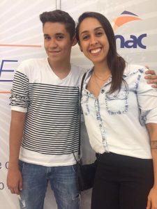 Nathália Araújo e Pablo Toneti