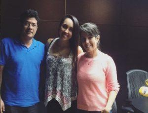 Cláudio Sacramento, Nathália Araújo e Nardele Gomes